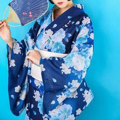 Blossom Breeze - Floral Kimono / Set