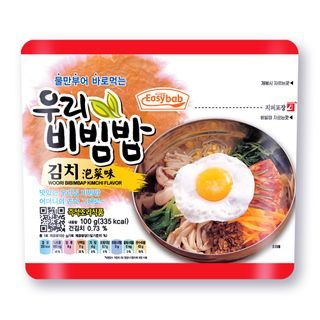 Easybab - Korean Instant Rice Kimchi Flavor 100g