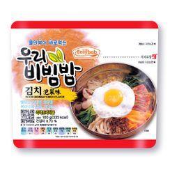 Easybab - Korean Bibimbap Kimchi Flavor 100g