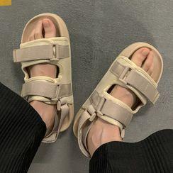 YERGO - Fabric Platform Sandals