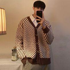 JISHOM - Striped Cardigan