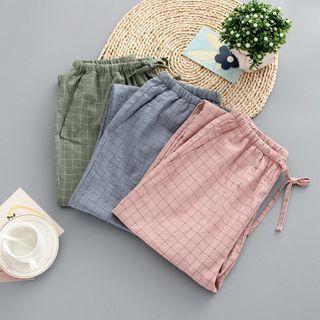 Dogini - Plaid Pajama Pants