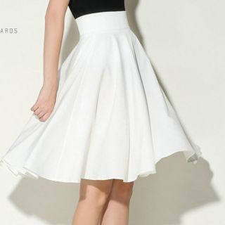 Areumdaun - Midi A-Line Skirt