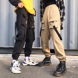Genki Groove - 情侶款工裝褲