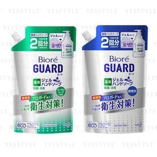 Kao - Biore Guard Gel Hand Wash Refill 400ml - 2 Types