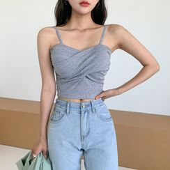 Envy Look - Padded Bra Cropped Camisole Top