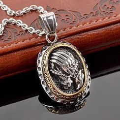 Trend Cool - Engraved Pendant Necklace