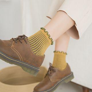 Mimiyu - Set of 3: Frill Trim Socks