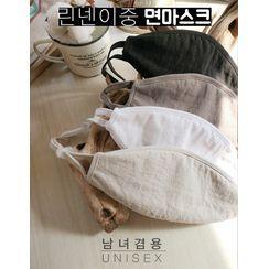GOROKE - Linen Blend Fabric Mask