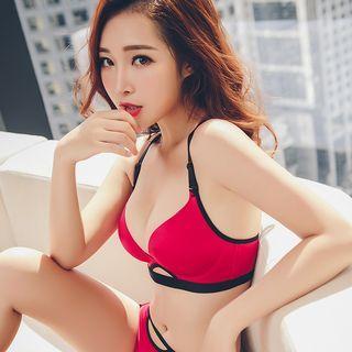 Honey Kiss - Set: Wireless Bra + Panties