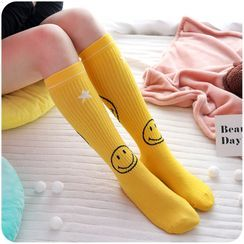 Chimi Chimi - Smiley Long Socks
