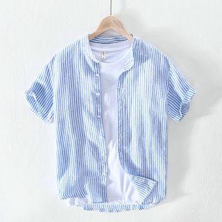 Menelaus - 短袖条纹衬衫