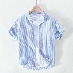Menelaus - Short-Sleeve Striped Shirt