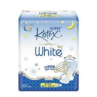 Kotex - Kotex White Slim Wing Ex-Long 35cm, 10 cuentas