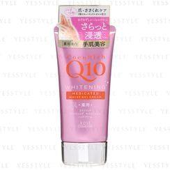 Kose - CoenRich Q10 Whitening Moist Gel Hand Cream 80g