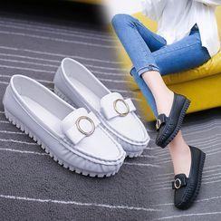 Aneka - 蝴蝶结平跟鞋
