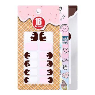 16brand - 16 Taste-Chu Nail Patch (3 Types)