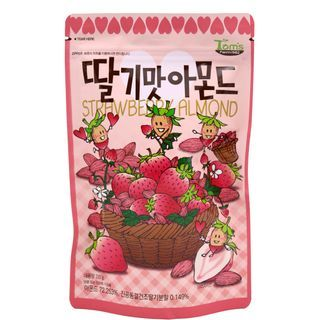 Tom's Farm - Dry Roasted Strawberry Flavor Almond 210g