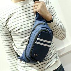Top Seeka(トップシーカ) - Stripe Waist Bag