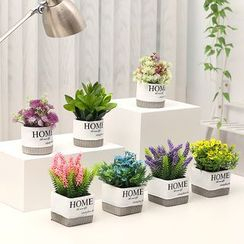 Foresty - 仿真植物連花盆 (多款設計)
