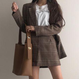 Minafox - Faux Leather Tote Bag