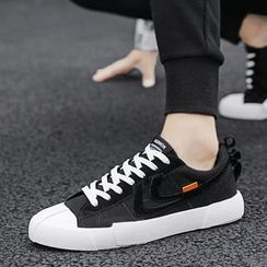 MARTUCCI - Canvas Lace-Up Sneakers