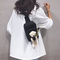 Little Days - Plush Bear Belt Bag