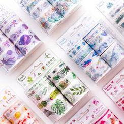 Dojia - Set: Printed Masking Tape
