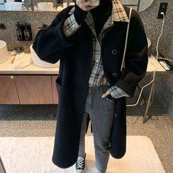 Apotheosis - Tie-Waist Plain Coat