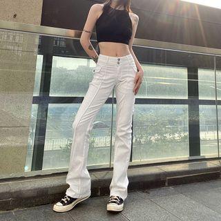 Genrovia - High Waist Bootcut Jeans