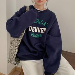 IndiGirl - Lettering Sweatshirt