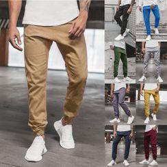 Hansel(ハンセル) - Plain Sweatpants