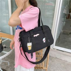 EAVALURE(イーヴァルア) - Plain Canvas Carryall Bag