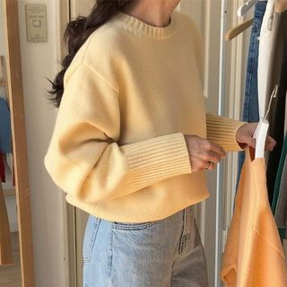 monroll - Plain Knit Sweater