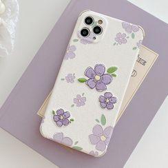 Aion - 绣花手机保护套 - iPhone 11 / 11 Pro / 11 Pro Max / X / XS / XR / XS Max / 7 / 8 / 7 Plus / 8 Plus
