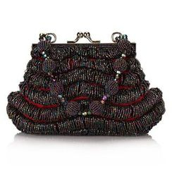Moonflower - Beaded Handbag