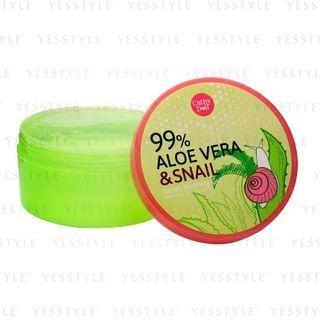 Cathy Doll - 99% Aloe Vera & Snail Serum Soothing Gel