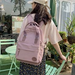 Crimson Tone - Applique Lightweight Backpack