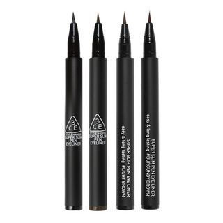 3CE - Super Slim Pen Eye Liner - 4 Colors