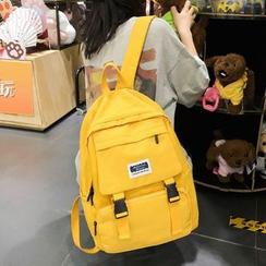 Youshine - Buckle Canvas Backpack