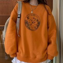 Mushini - Teddy Bear Print Sweatshirt