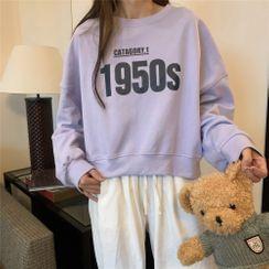 Magimomo - Number Print Pullover
