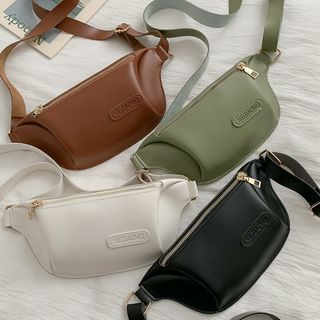 Road to Love - Faux Leather Belt Bag