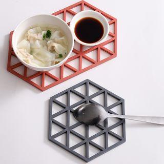 Mikamae - Silicone Geometric Heat Resistant Pad