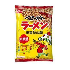 Three O'Clock - Oyatsu Baby Star Snack Noodle Yakisoba Flavor 41g