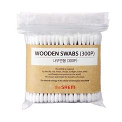 The Saem - Wood Swab 300pcs