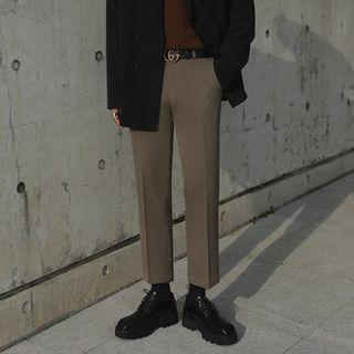 MRCYC - Cropped Straight Leg Dress Pants