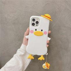 Zone Zero - 3D Duck Phone Case - iPhone 12 Pro Max / 12 Pro / 12 / 12 mini / 11 Pro Max / 11 Pro / 11 / SE / XS Max / XS / XR / X / SE 2 / 8 / 8 Plus / 7 / 7 Plus
