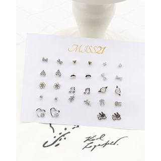 Miss21 Korea - Various Ear Stud Set (28 PCS)