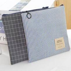 四季美 - 印花帆布卫生棉小袋